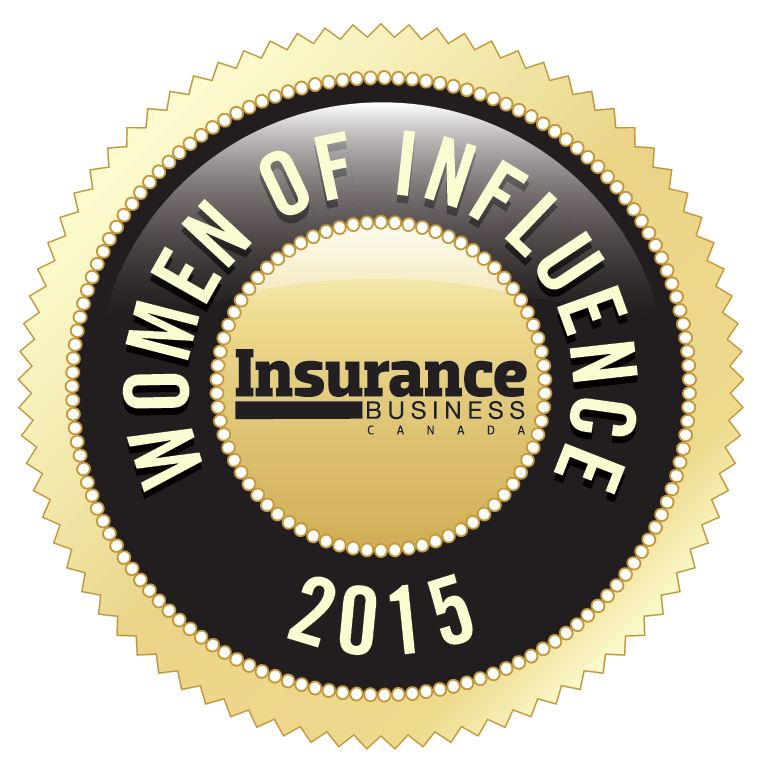 2015 Women of Influence Award winner