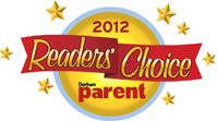 Durham Parent Readers Choice Winner 2012