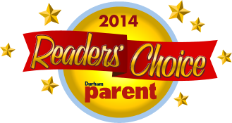 Durham Parent Readers Choice Winner 2015