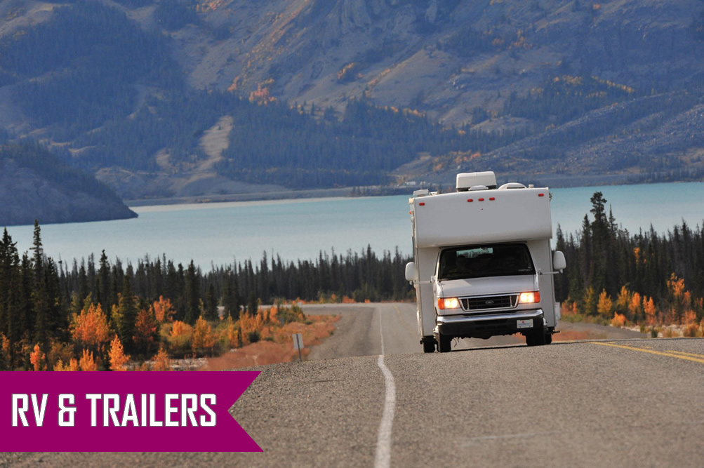 Rv and Trailer insurance in Ajax, Pickering, Whitby, Oshawa, Bowmanville